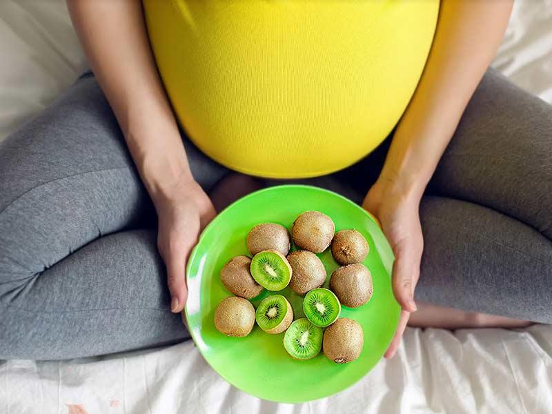 الكيوي للحامل - فوائد الكيوي للحامل