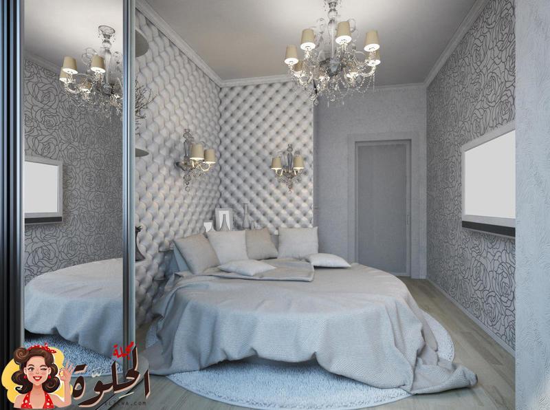 ديكورات غرف نوم للعرسان صغيرة