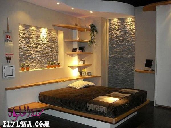 ديكورات جبس غرف نوم فخمه 2021