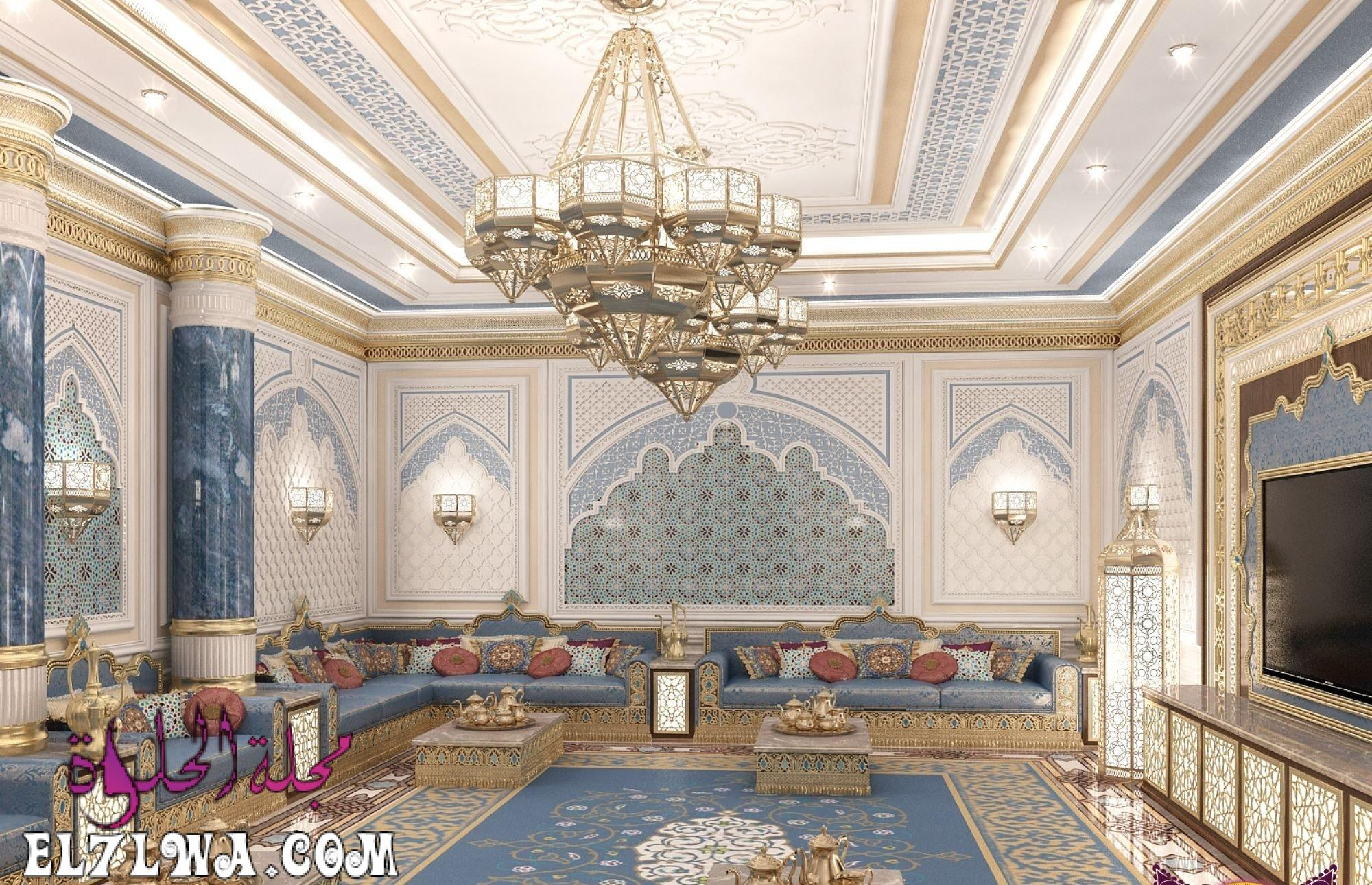 تصميم مجالس رجال مغربية