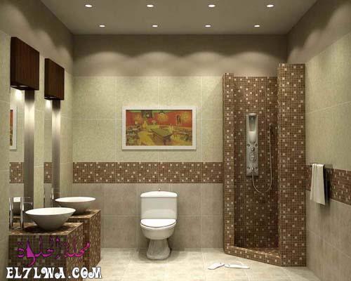 ديكور حمامات كلاسيك
