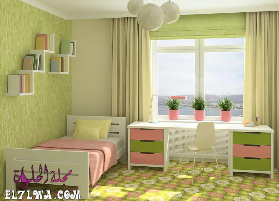 غرفة خضراء - ديكورات غرف اطفال 2021 ديكور غرف اطفال