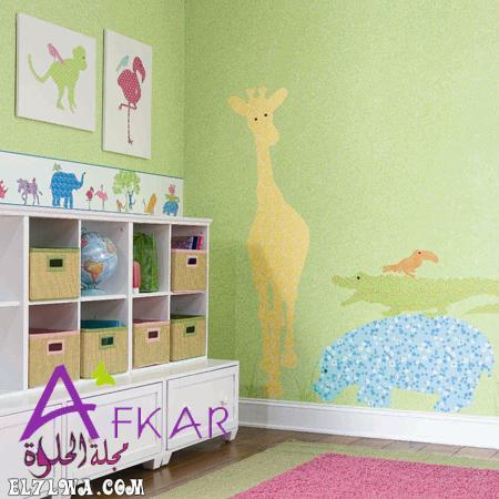 غرف اطفال بالرسومات - ديكورات غرف اطفال 2021 ديكور غرف اطفال