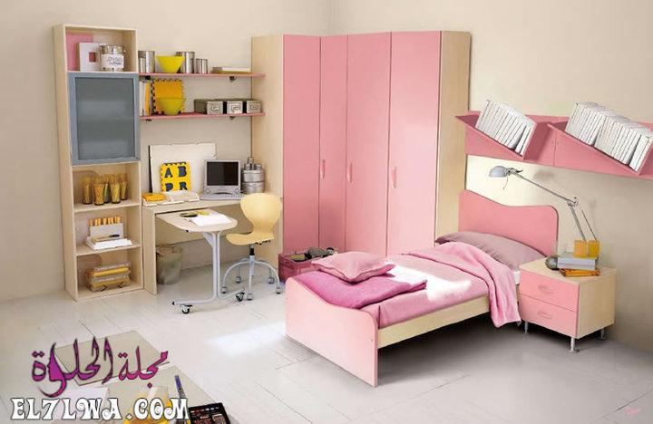 غرف اطفال وردي - ديكورات غرف اطفال 2021 ديكور غرف اطفال