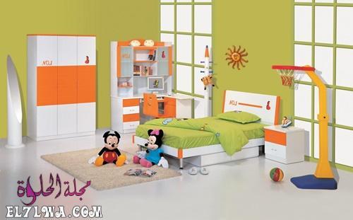 غرف نوم اطفال بسيطة وغير مكلفة - ديكورات غرف اطفال 2021 ديكور غرف اطفال