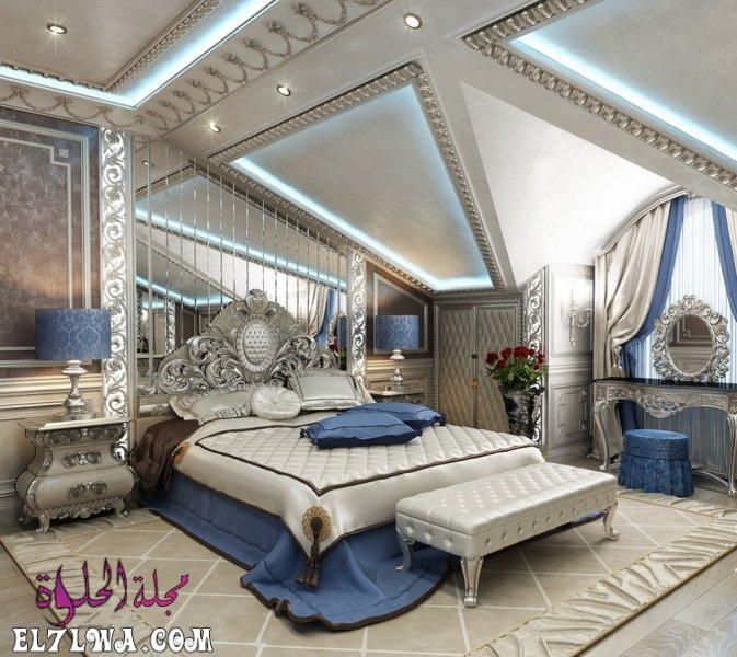 غرف نوم كلاسيكية 2021