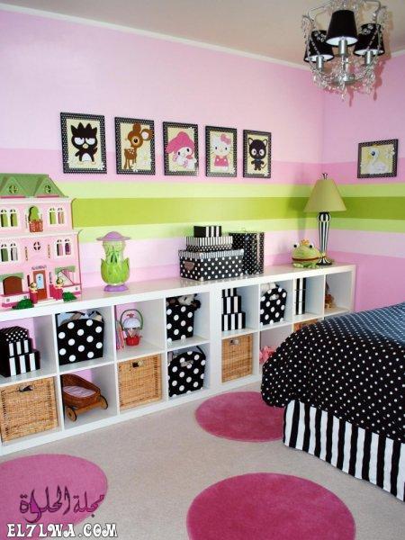 مكتبة صغرة - ديكورات غرف اطفال 2021 ديكور غرف اطفال