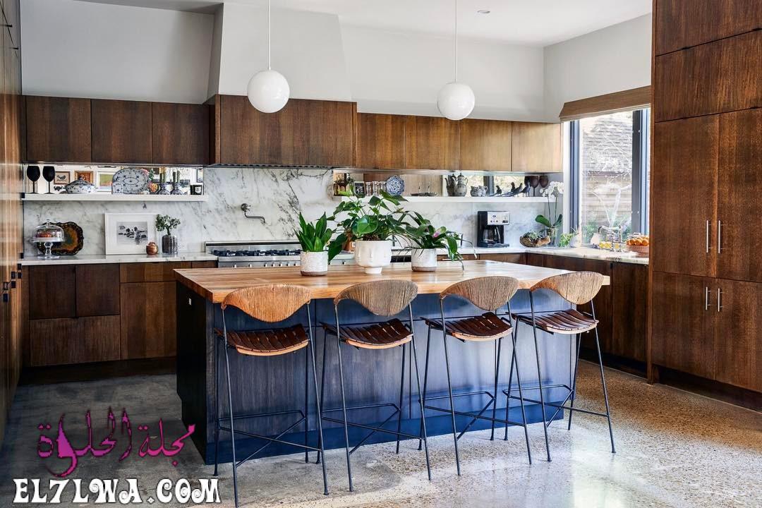 american kitchen design bertazzoni italian kitchen 35 - ديكورات مطابخ 2021 صور مطابخ