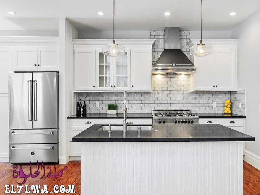 american kitchen design bertazzoni italian kitchen 44 - ديكورات مطابخ 2021 صور مطابخ