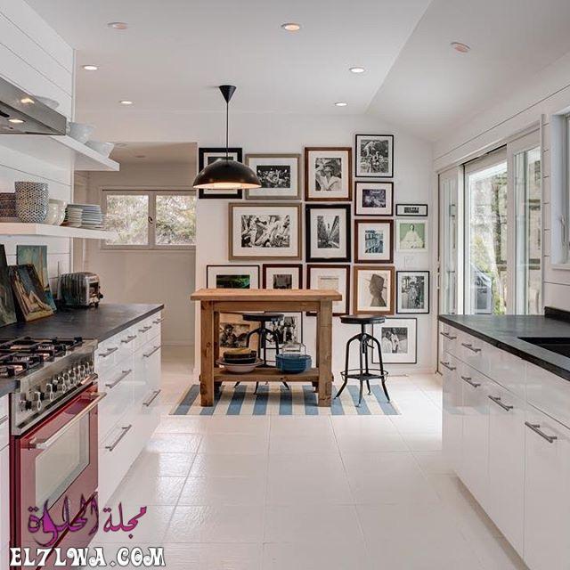 american kitchen interiors design bertazzoni italianbark 16 - ديكورات مطابخ 2021 صور مطابخ