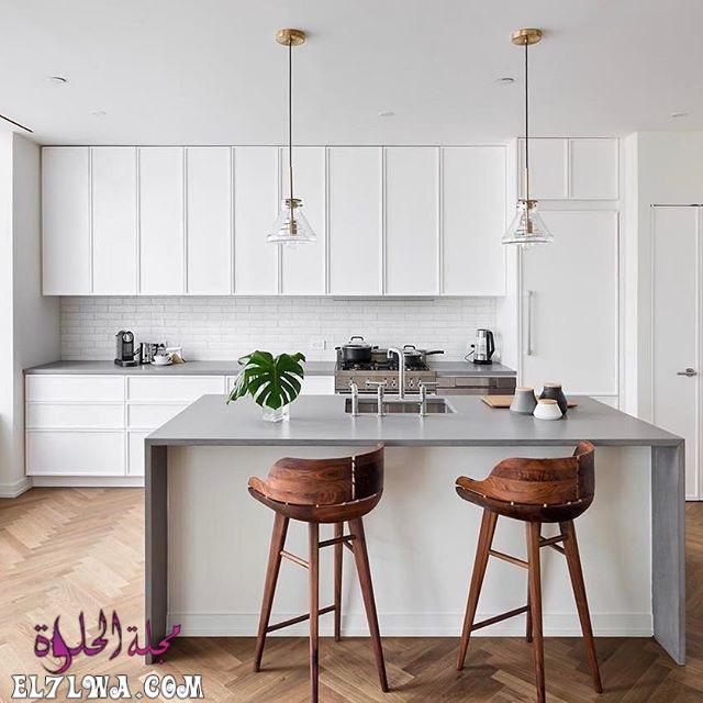 american kitchen interiors design bertazzoni italianbark 25 - ديكورات مطابخ 2021 صور مطابخ