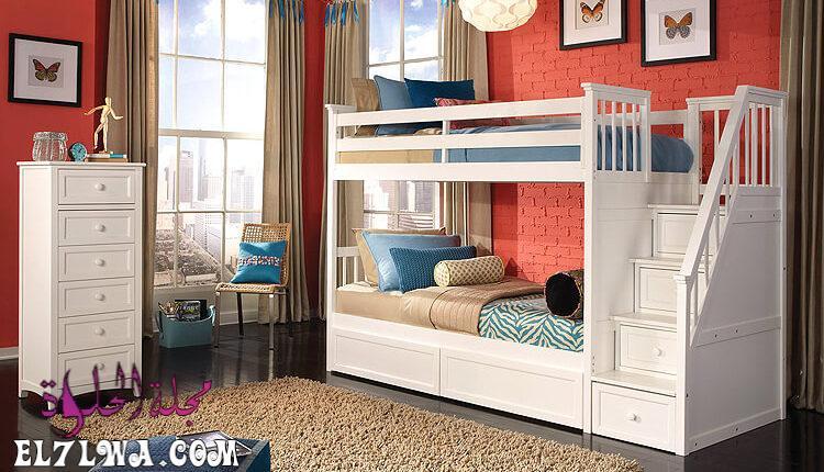 mobykan.comديكورات غرف نوم اطفال مساحات صغيرة 750x430 1 - ديكورات غرف اطفال 2021 ديكور غرف اطفال