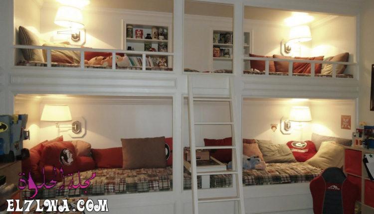 mobykan.comديكور غرف نوم صغيرة المساحة للاطفال 750x430 1 - ديكورات غرف اطفال 2021 ديكور غرف اطفال
