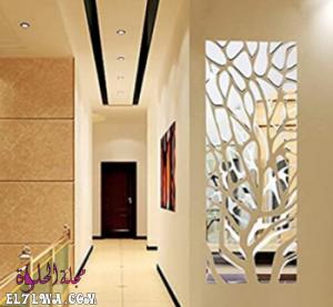 صور ديكور مرايا جدارية مودرن للعام 2021 م