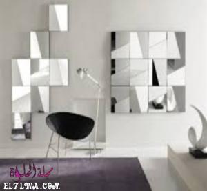 صور مرايا حائط ديكور مودرن للعام 2021 م