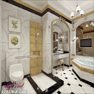 صور حمامات أفكار ديكور حمامات 2021 1 300x300 - صور سيراميك حمامات 2021 أشكال سيراميك حمامات 2021