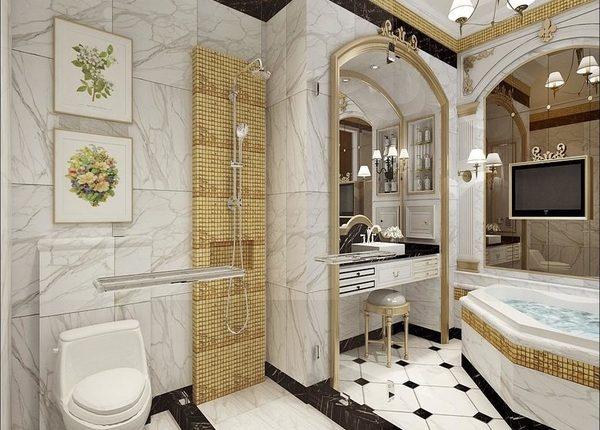 صور حمامات أفكار ديكور حمامات 2021