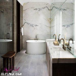 صور الحمامات 2021 م باللون الأبيض
