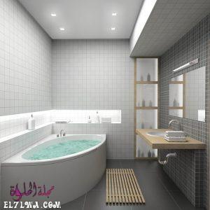 أفضل صور لأفكار ديكورات الحمامات 2021 م