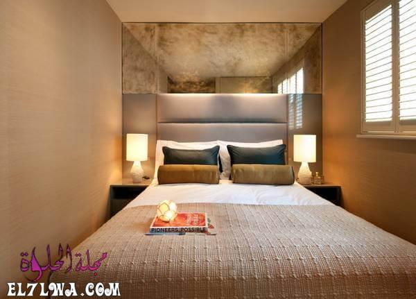 Small Bedroom Furniture Designs 7 - احدث الوان الدهانات للشقق الصغيره 2021