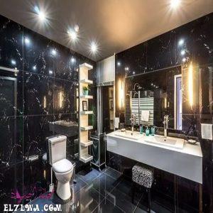 أفضل صور ديكورات حمامات فخمة جدا 2021 م