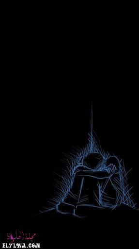 خلفيات حزينة سوداء