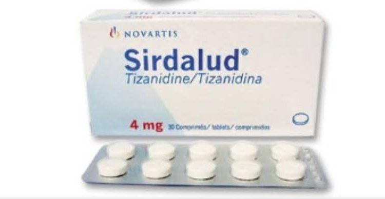 أقراص سيردالود Sirdalud باسط للعضلات لعلاج آلام المفاصل والعضلات