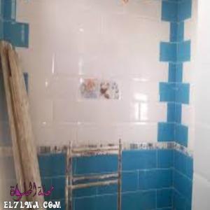أشكال صور سيراميك الحمامات 2021 م زرقاء