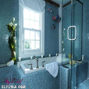 أشكال صور سيراميك الحمامات 2021 م تركواز