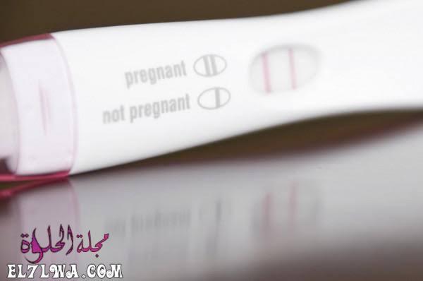 ظهور خط باهت في اختبار الحمل بعد ساعات