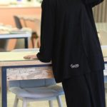 عبايات خروج 2021 بقطعتين دار لينا Darlena