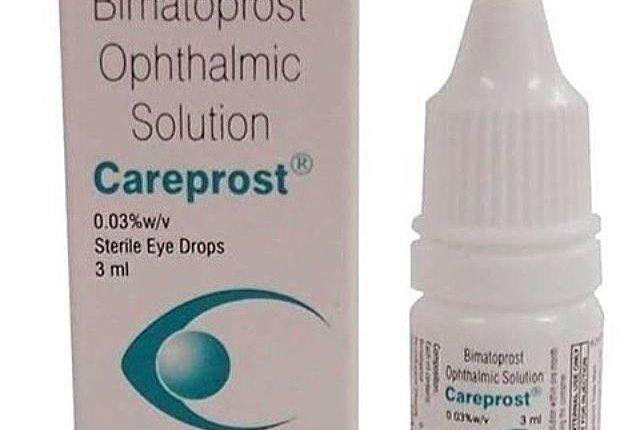 قطرة كيربروست Careprost لتطويل الرموش والحواجب ولفراغات الشعر