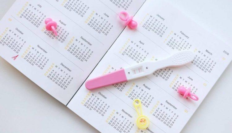 جدول الأيام التي يحدث فيها الحمل