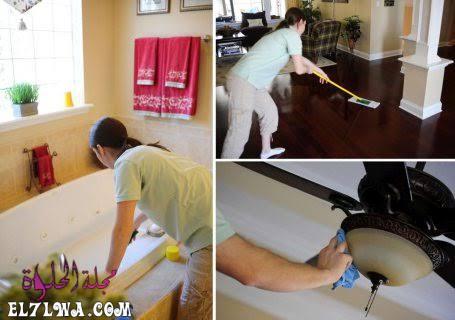 تنظيف المنزل بعد التشطيب : تعلم كيف تعتني بالجدران والاثاث وتنظيفه بعد التشطيب